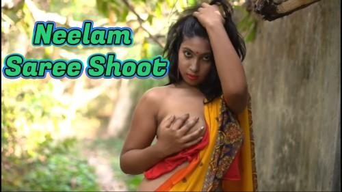 Neelam Saree Shoot – Desi Indian Nude 18+ Fashion Show